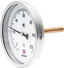 Биметаллические термометры БТ, серия 211 (осевое присоединение)