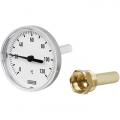 Термометр биметаллический для систем отопления модель A43